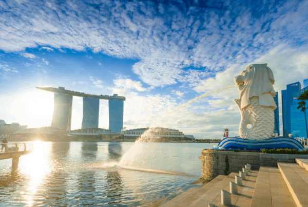 waterfront in singapore